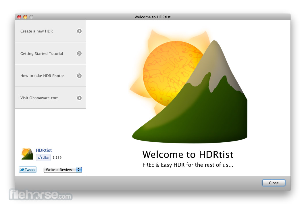 HDRtist 1.3.3 Screenshot 1