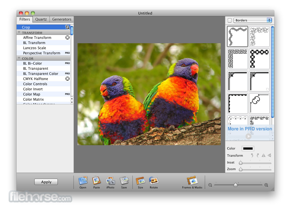 Image Tricks Lite 3.7 Captura de Pantalla 1