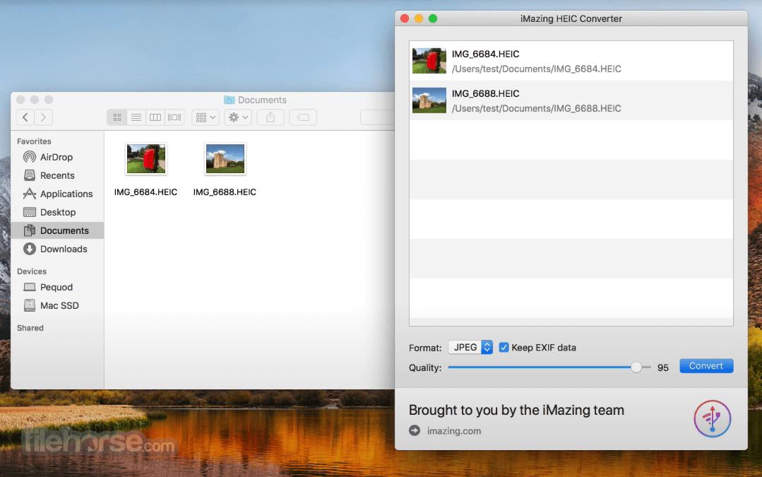 iMazing HEIC Converter 1.0.11 Screenshot 1