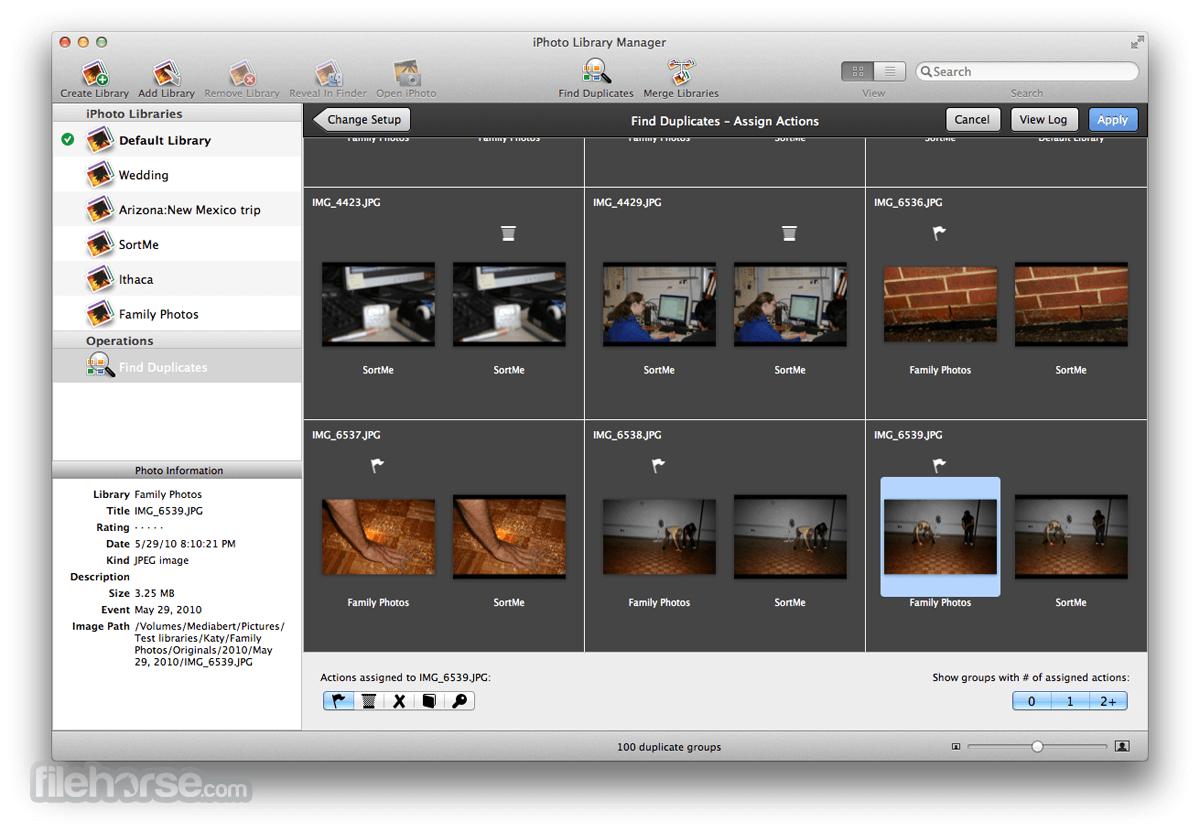 How to merge 2 photo libraries mac