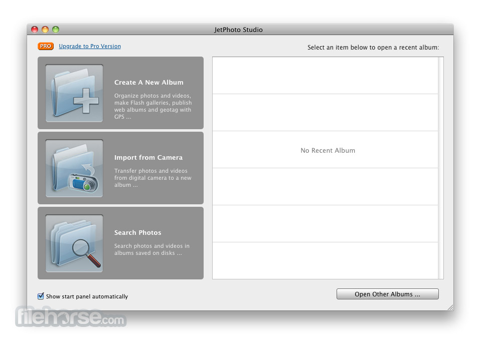 JetPhoto Studio 5.6 Screenshot 1