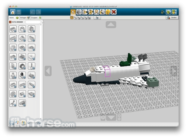 LEGO Digital Designer 4.3.11 Screenshot 3
