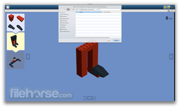 LEGO Digital Designer 4.3.11 Screenshot 5