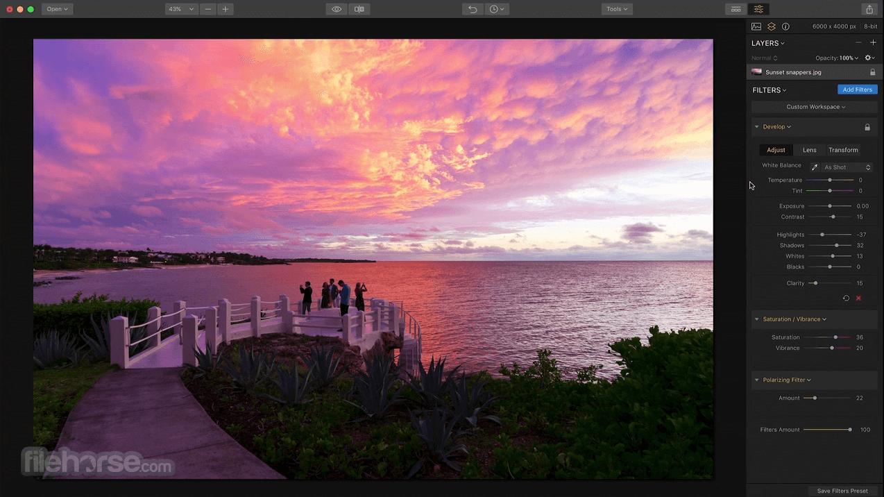 Luminar Photo Editor 4.4.0 Screenshot 1