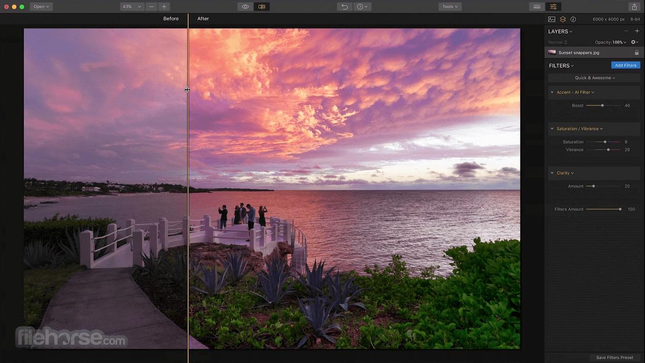 Luminar Photo Editor 4.4.0 Screenshot 2