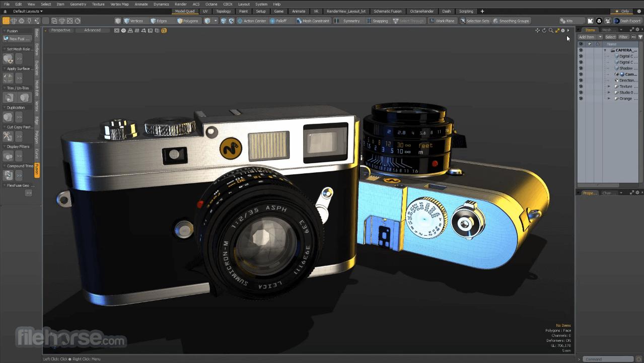 Modo 15.1 Screenshot 2