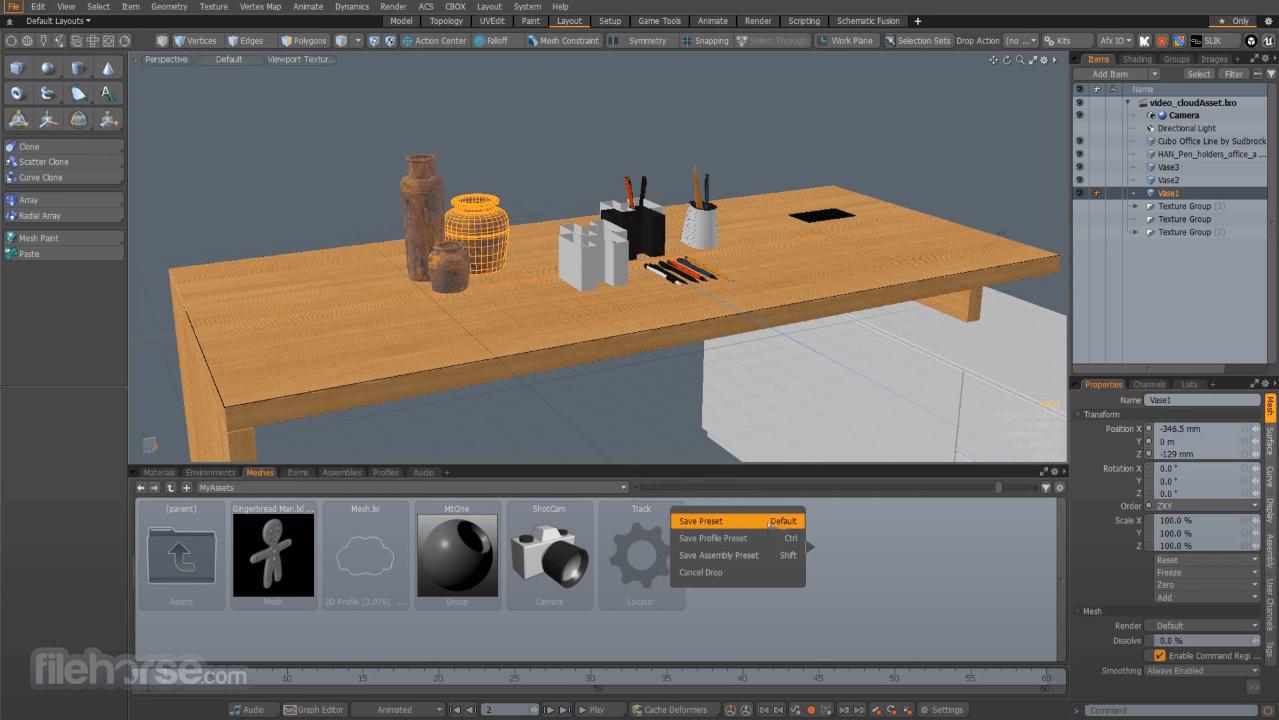 Modo 15.1 Screenshot 4