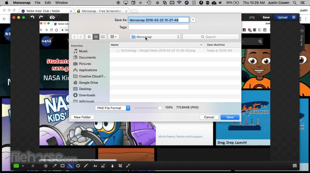 Monosnap 4.16.1 Screenshot 4