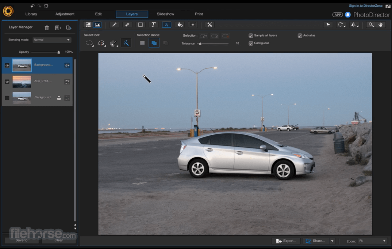 PhotoDirector 9.0.2728 Screenshot 1