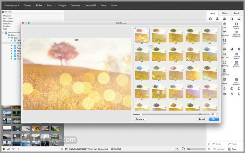 PhotoScape Description for Windows 10