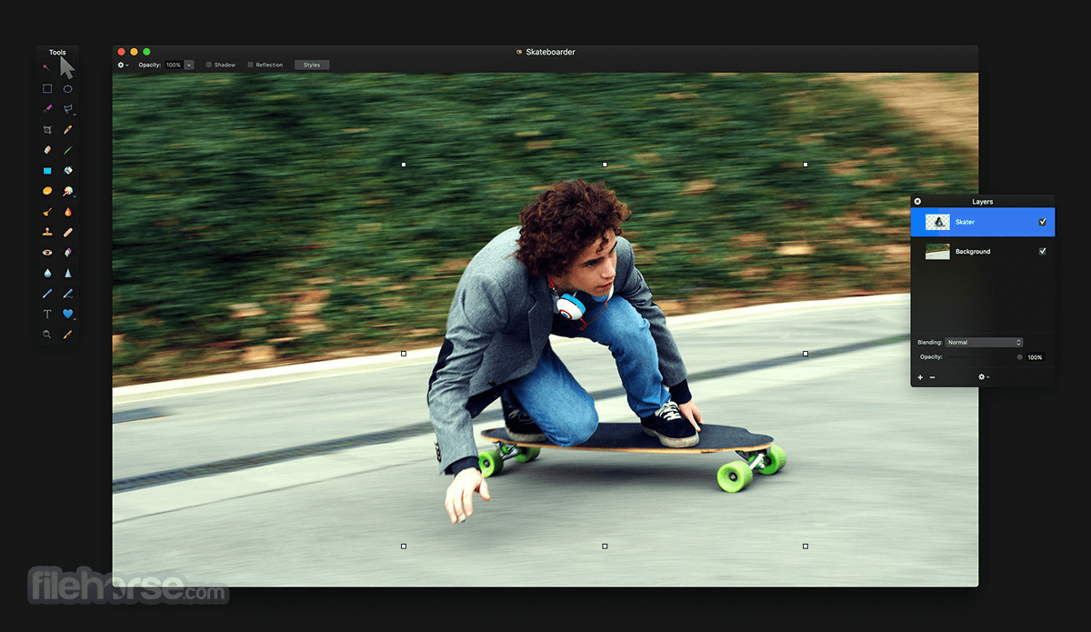 Pixelmator 2.1.3 Screenshot 1
