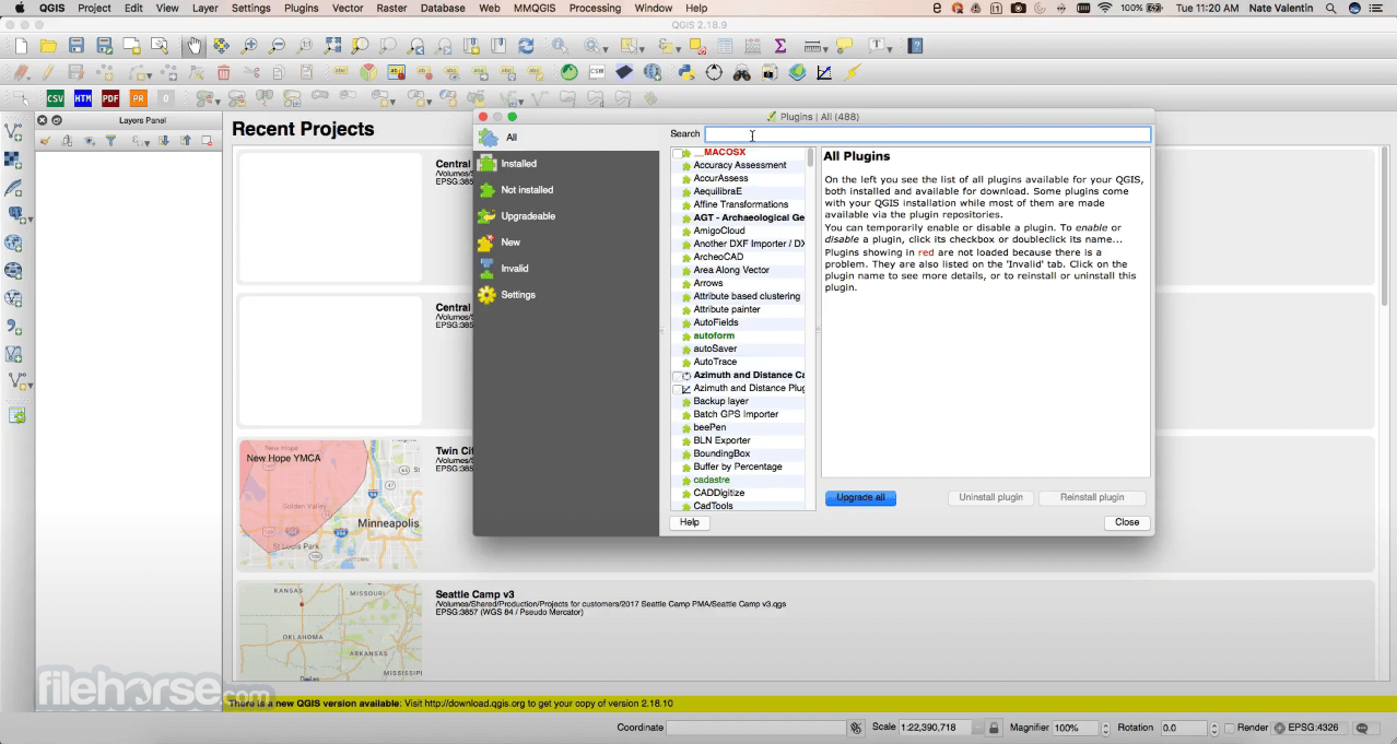 QGIS 3.14.16 Screenshot 2