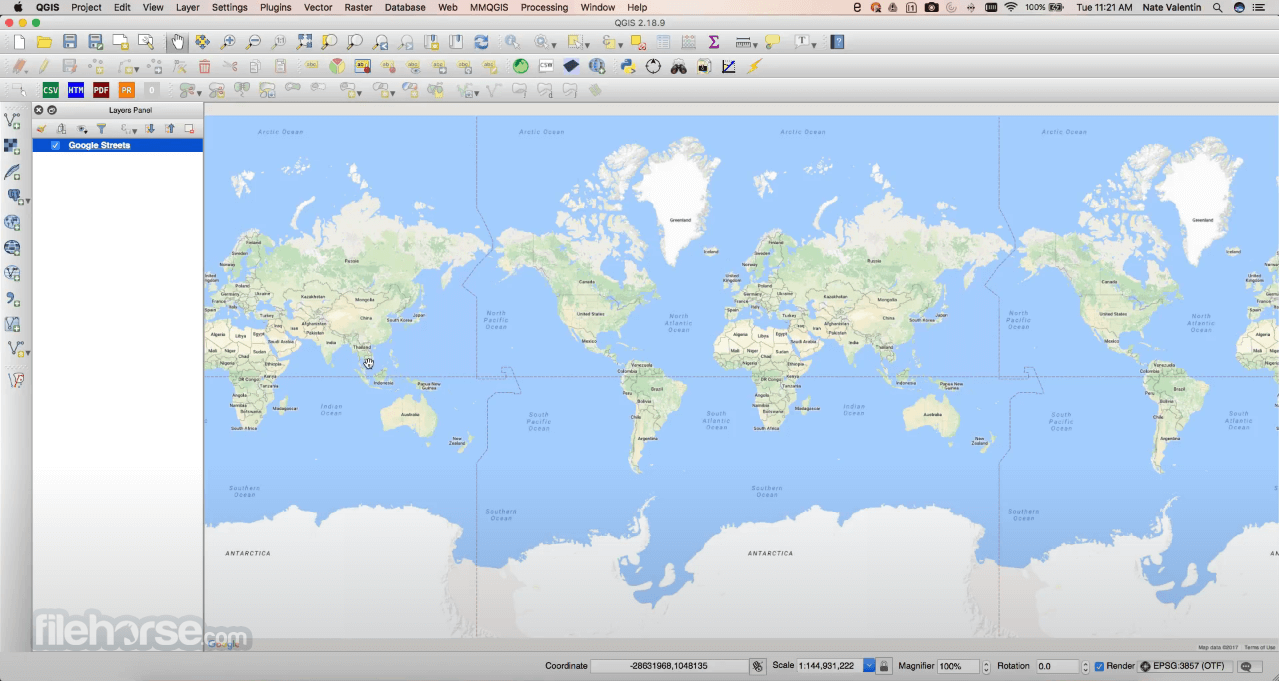 QGIS 3.14.16 Screenshot 3