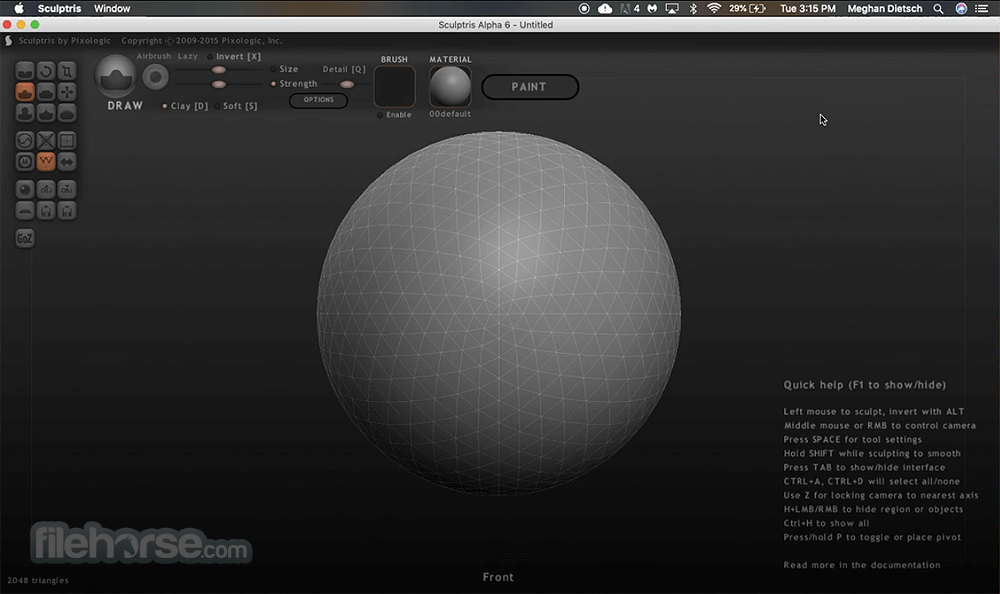 Sculptris alpha 6 free download
