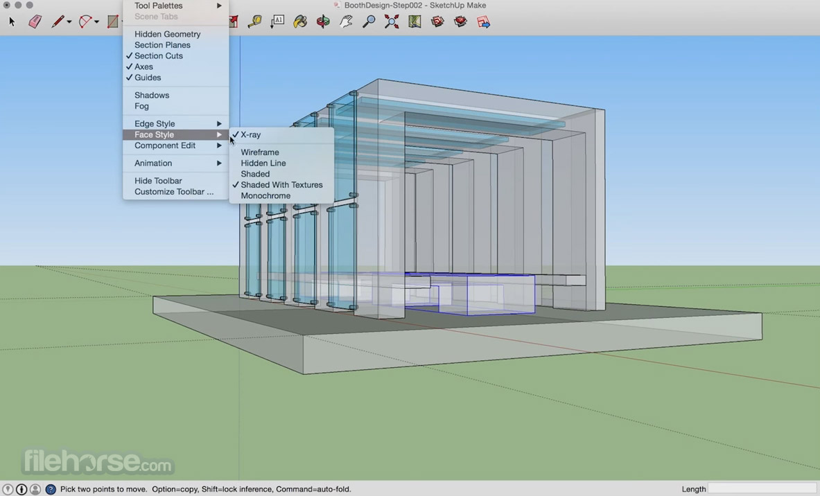 SketchUp Make 16.1.1451 Screenshot 3
