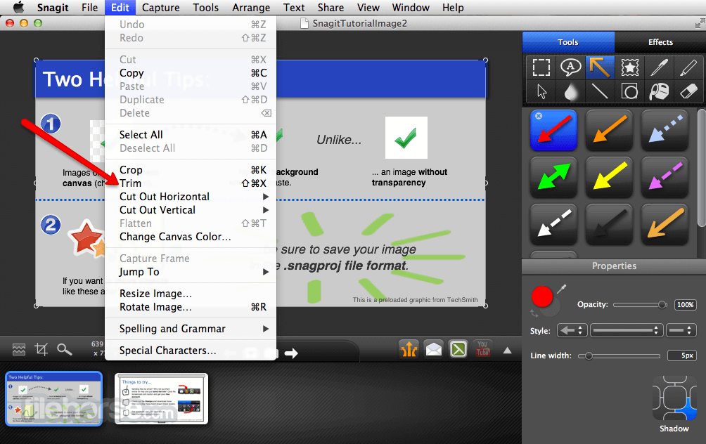 snagit latest version free download