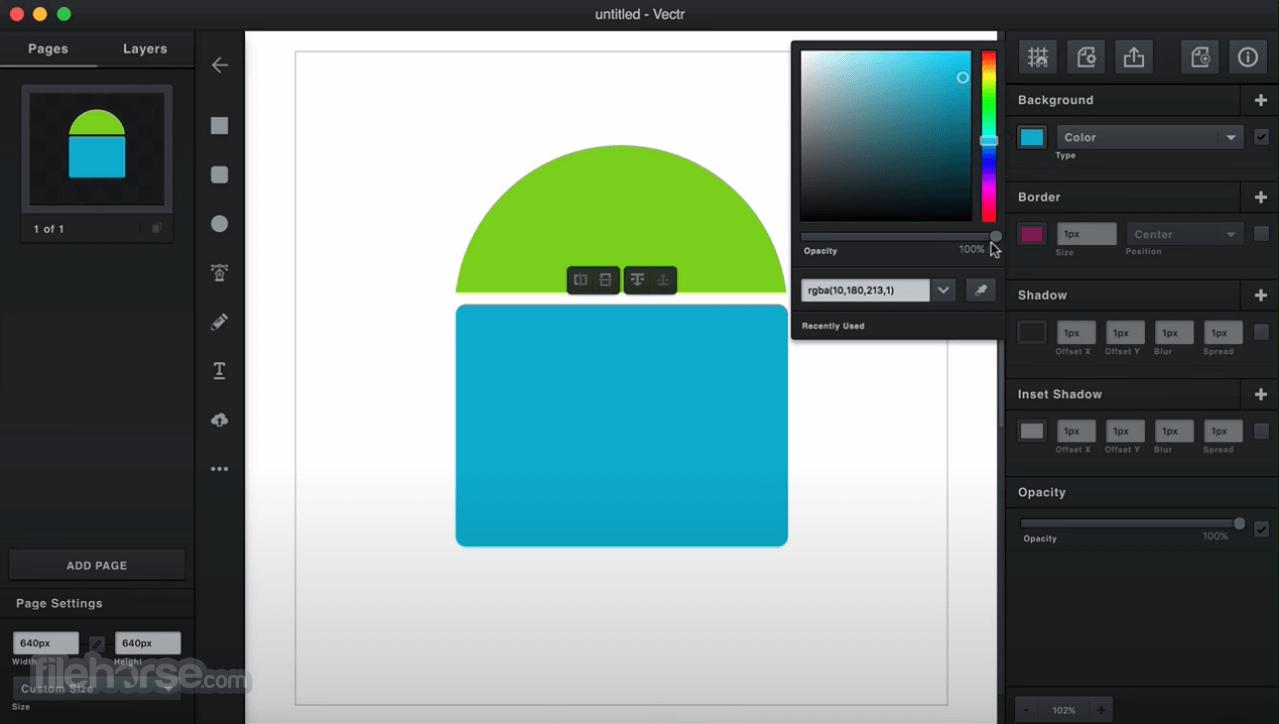 Vectr 0.1.16 Screenshot 2