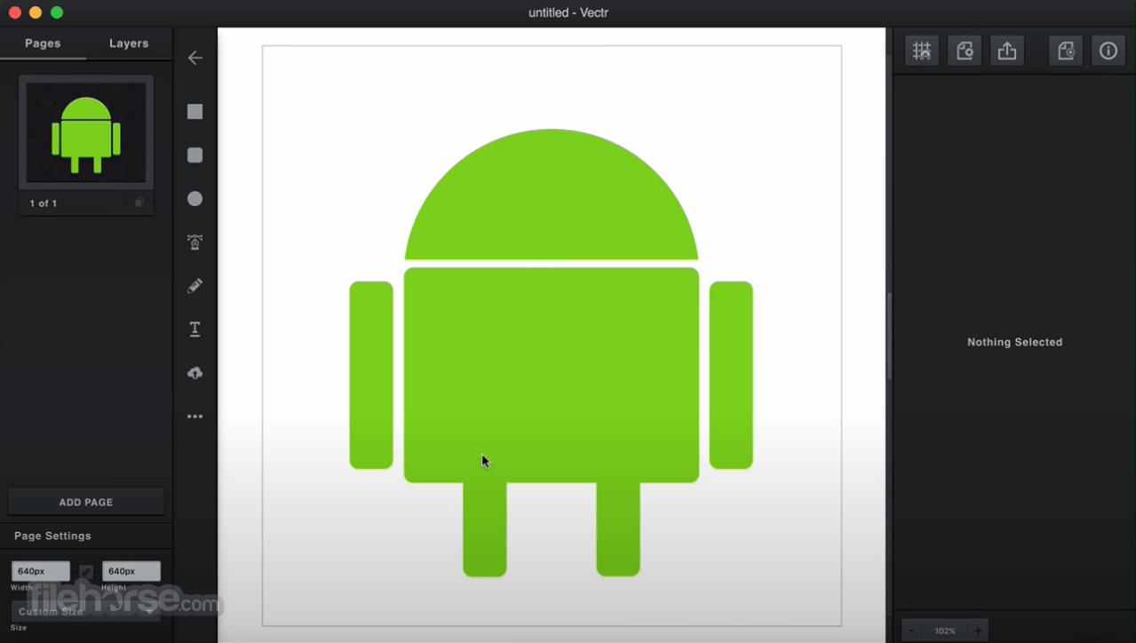 Vectr 0.1.16 Screenshot 3