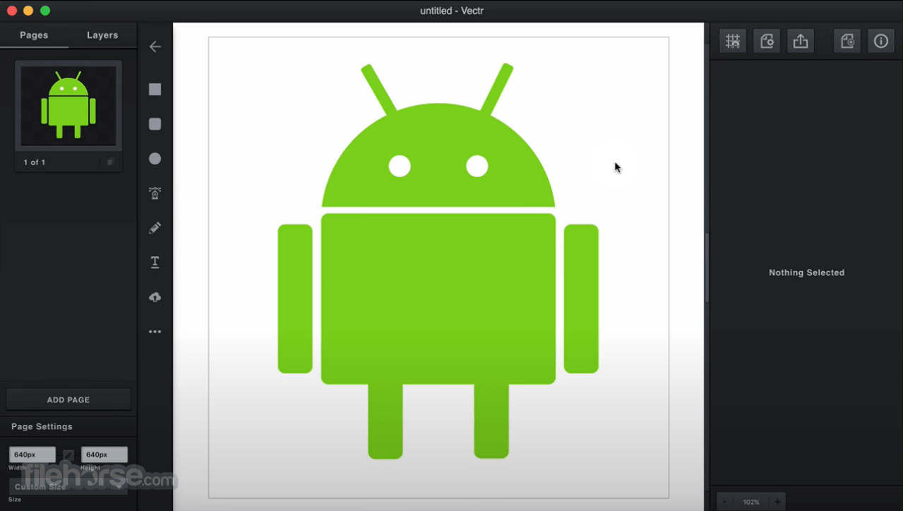 Vectr 0.1.16 Screenshot 4