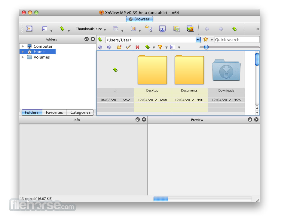 XnView MP 0.87 Screenshot 1