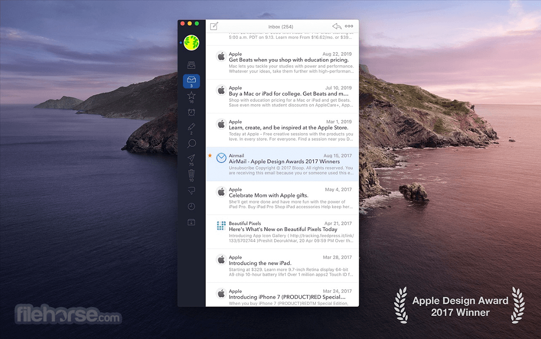 Airmail 5.0.7 Screenshot 1