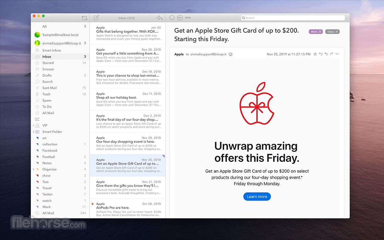 Airmail 5.0.7 Screenshot 4