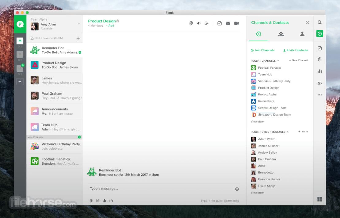 Flock 2.2.389 Screenshot 3