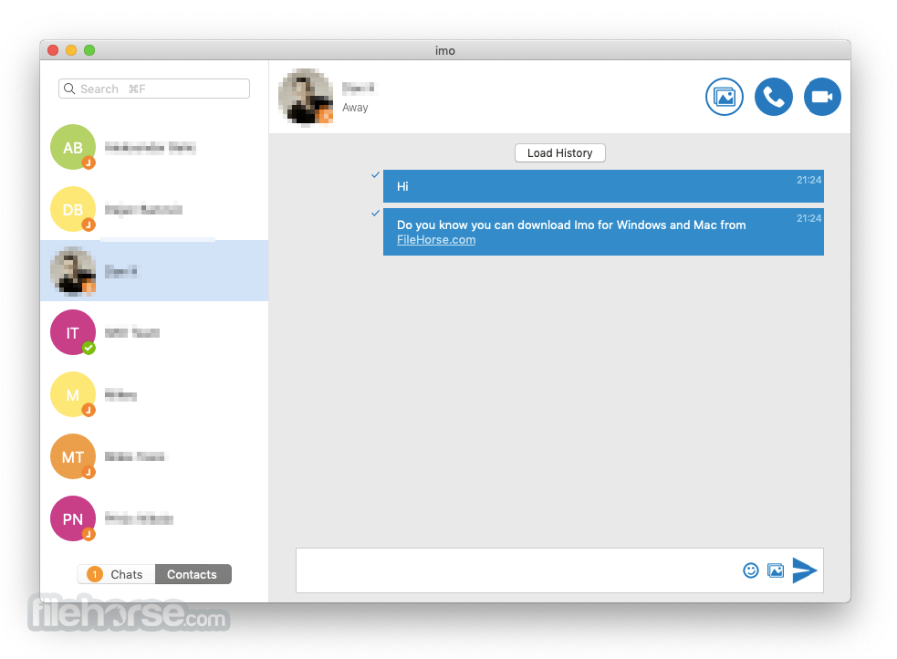 Imo Messenger 1.2.1 Screenshot 2