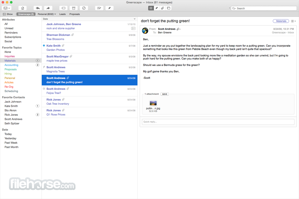 Postbox 3.0.1 Screenshot 4