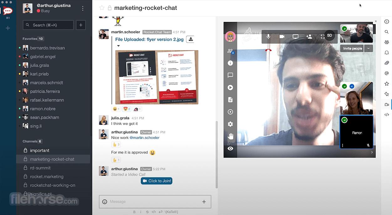 Rocket.Chat 3.5.7 Screenshot 4