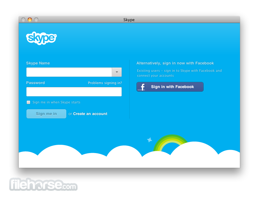 Skype 81702 download for mac screenshots filehorse skype 81702 screenshot 1 ccuart Choice Image