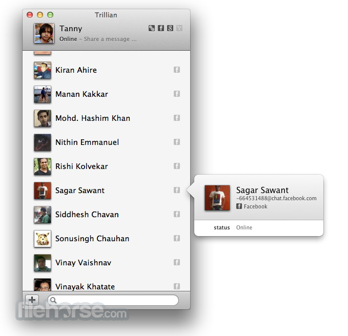 Trillian 1.1.0.6 Screenshot 1