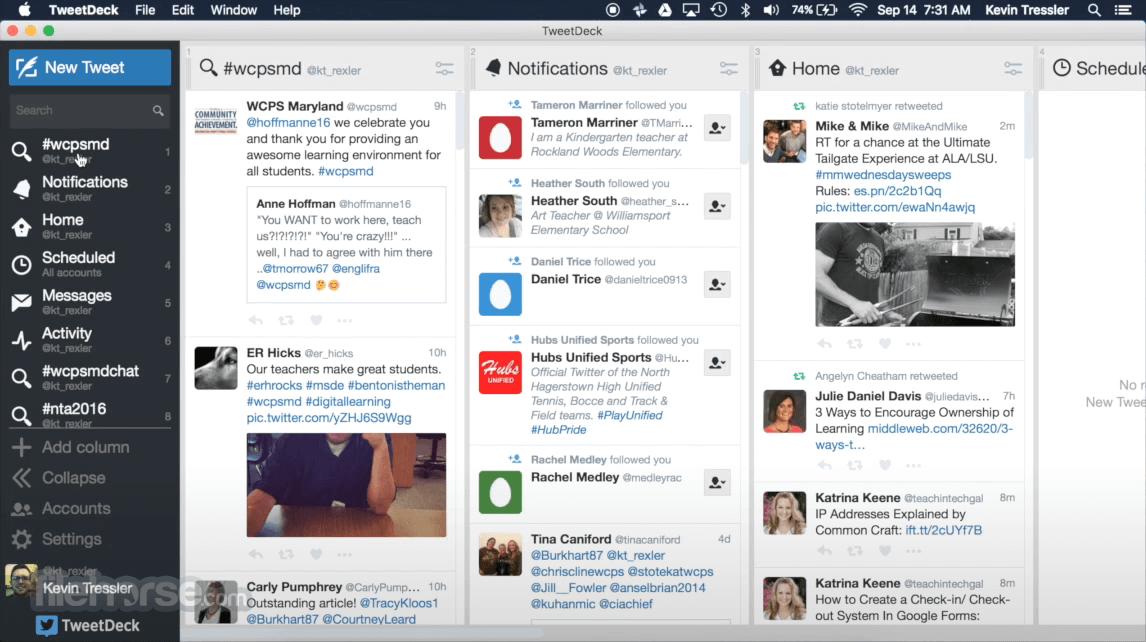 TweetDeck 3.18 Screenshot 1