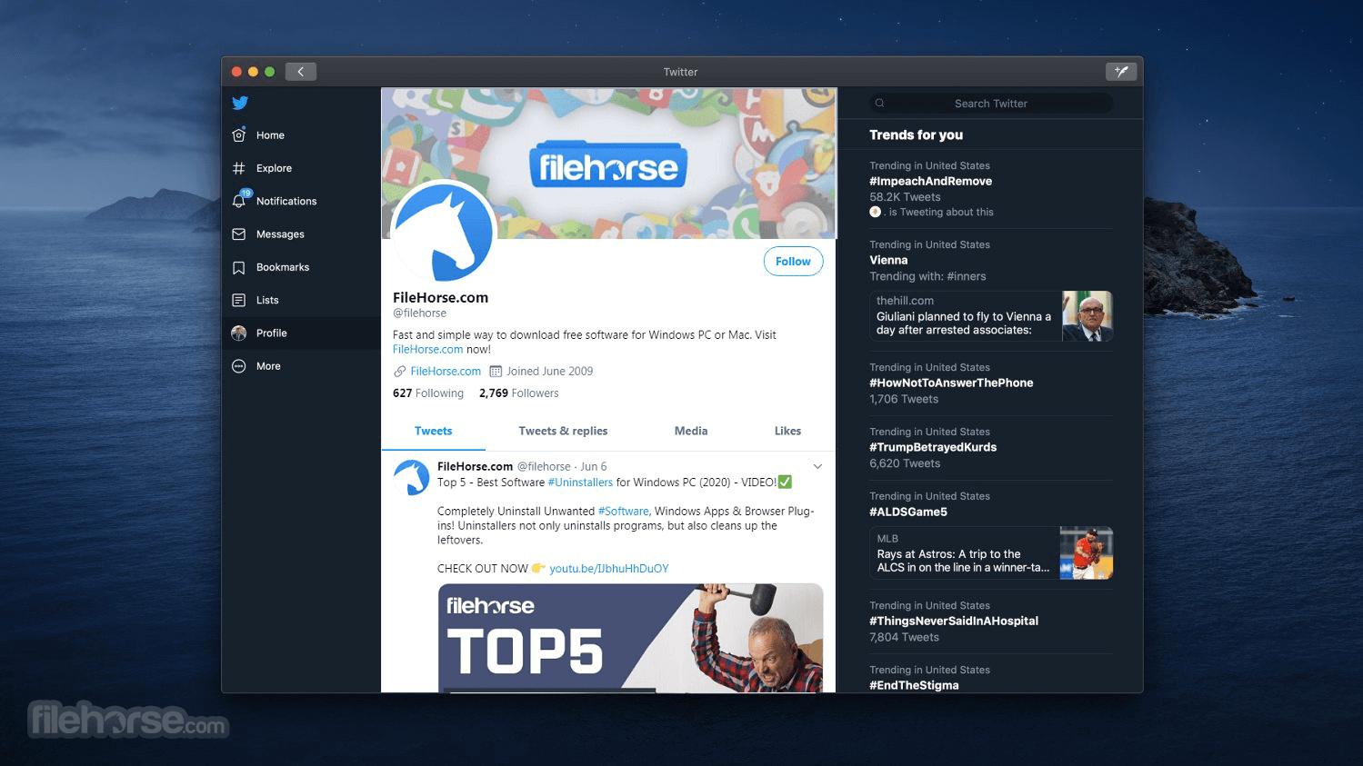 Twitter 8.21 Screenshot 1