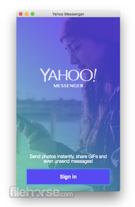 Yahoo! Messenger 2.5.3 (for OS 8 and 9) Screenshot 1
