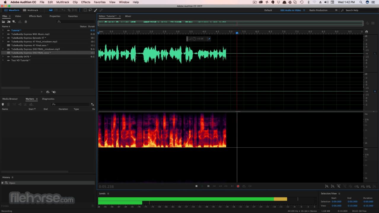 Adobe Audition CC 2020 Build 13.0.9 Screenshot 2