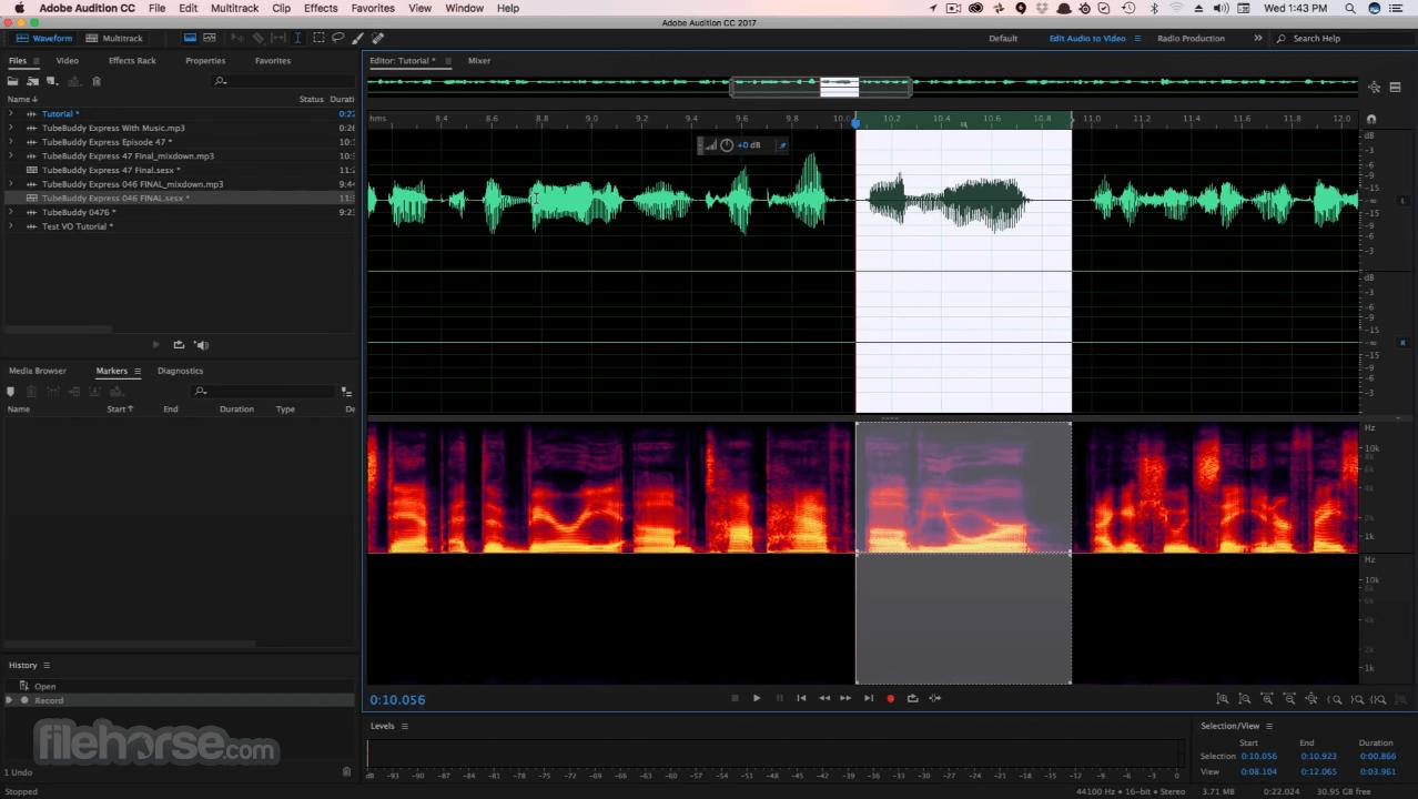 Adobe Audition CC 2020 Build 13.0.9 Screenshot 3