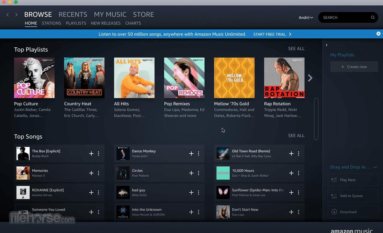 Amazon Music 8.6.0 Captura de Pantalla 3