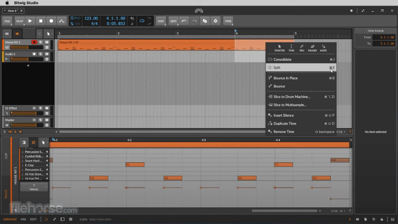 Bitwig Studio 3.3.7 Screenshot 3