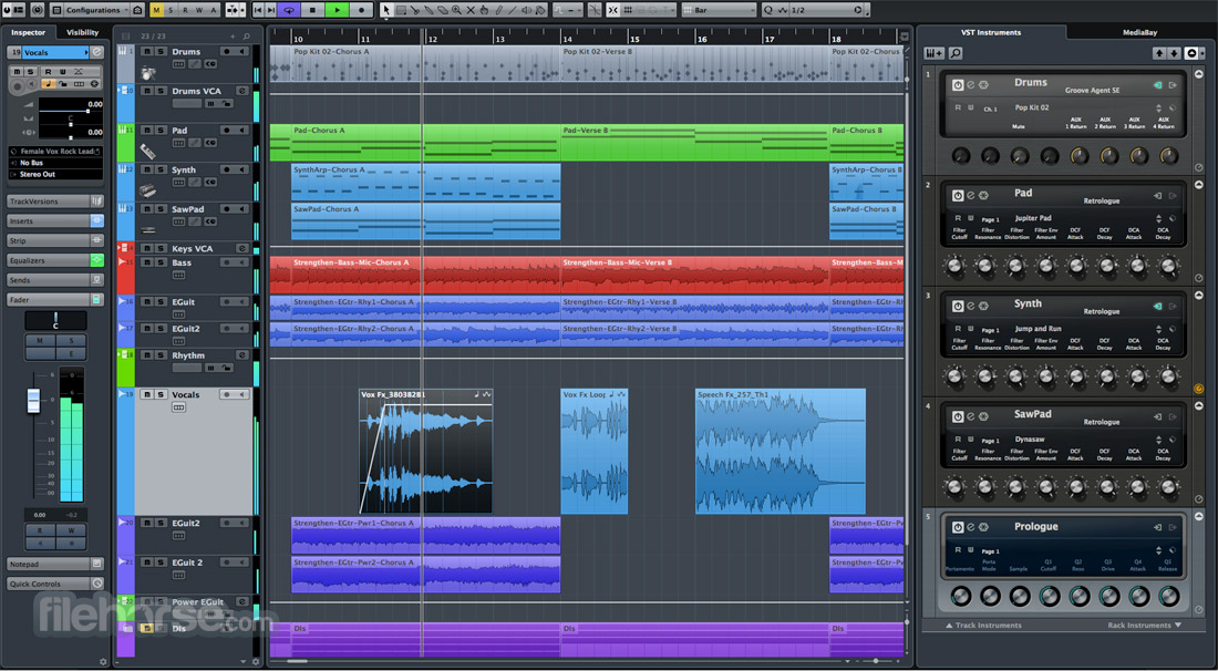 Cubase Pro 10.5.20 (Update) Screenshot 1