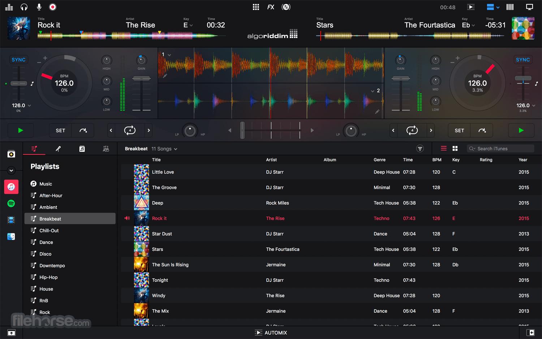 djay Pro 2.2.8 Screenshot 1