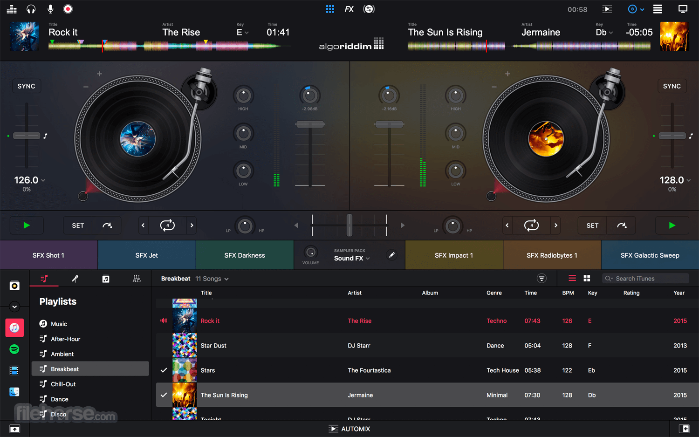 djay Pro 2.2.8 Screenshot 3