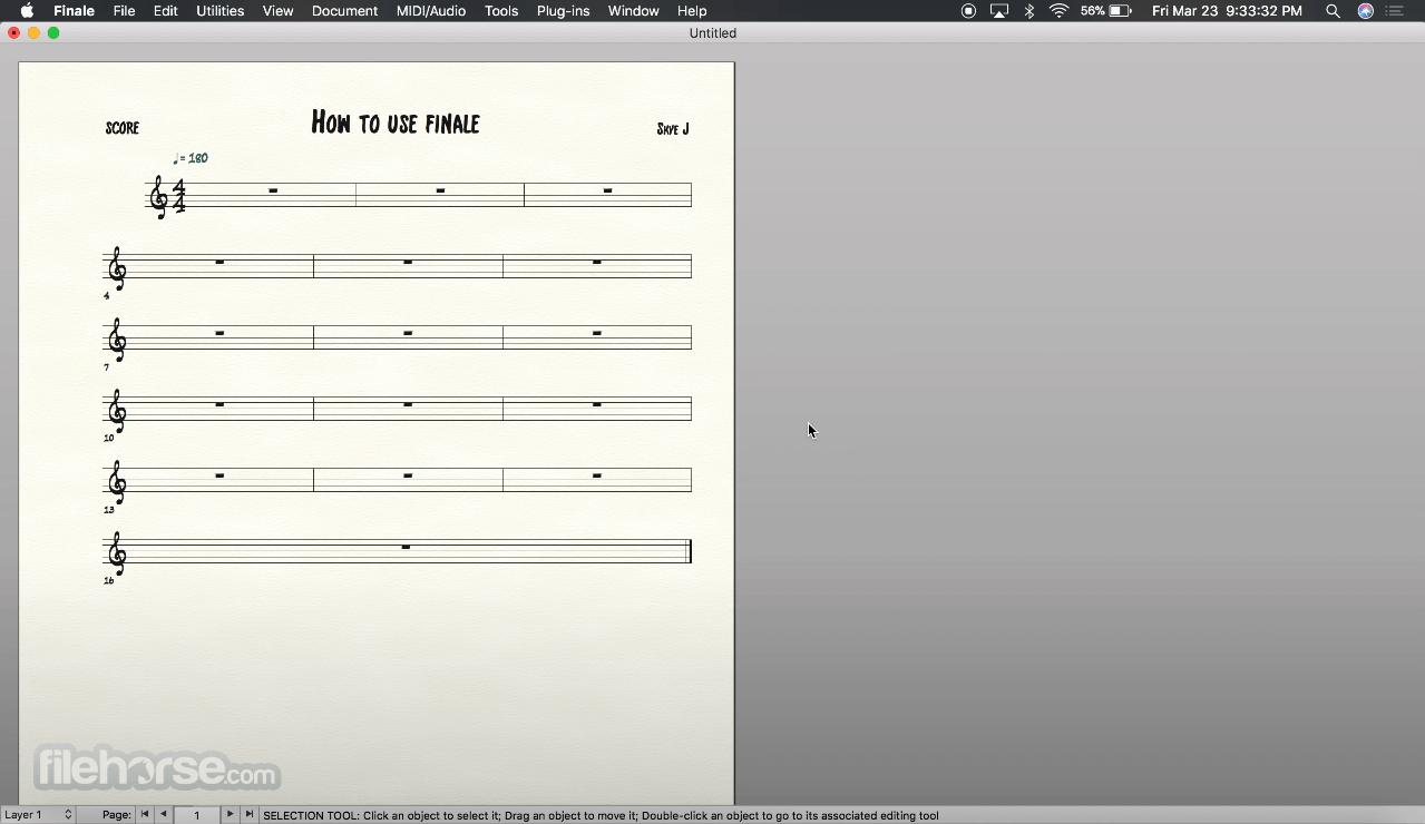 Finale 26.3.0 Screenshot 1
