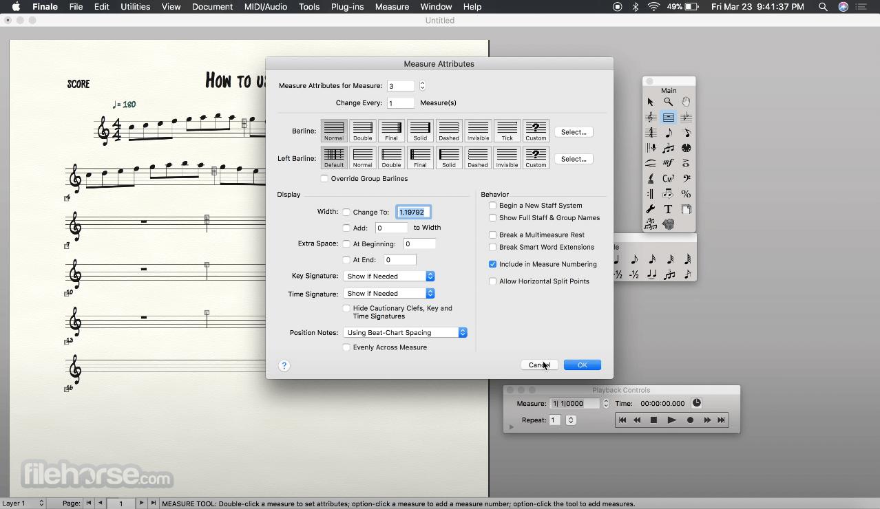 Finale 26.3.0 Screenshot 3