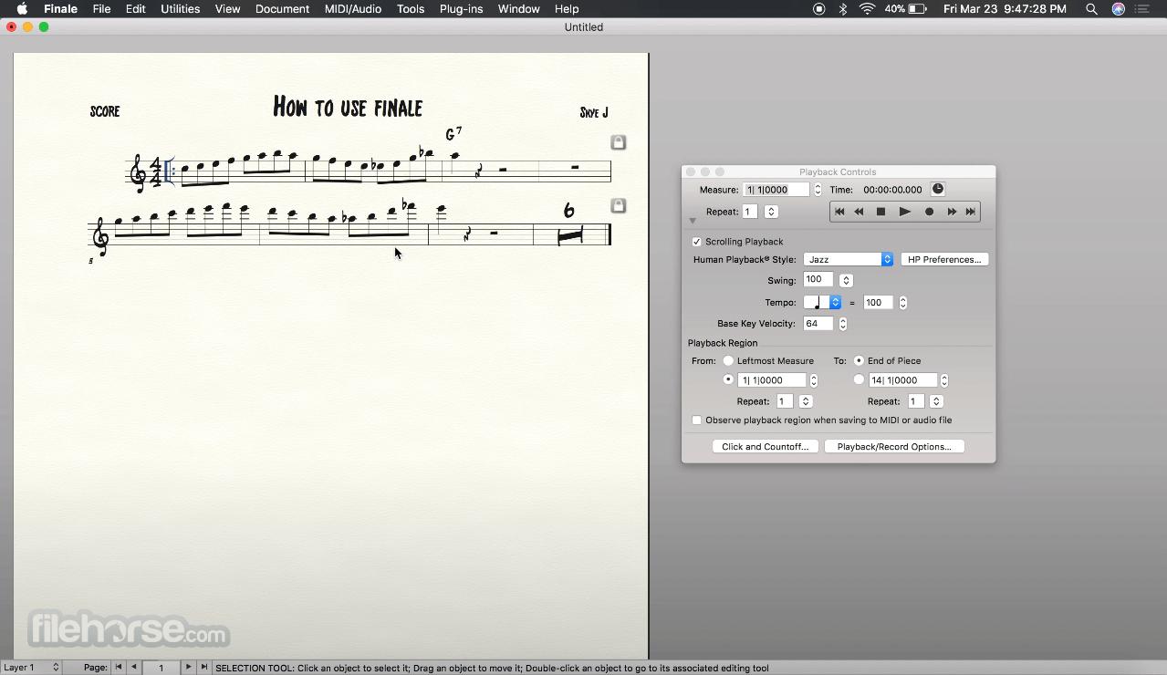 Finale 26.3.0 Screenshot 4