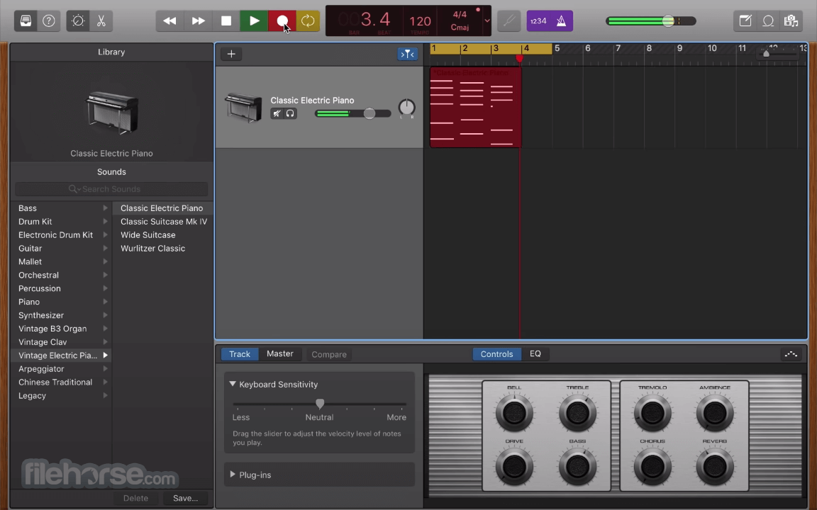 GarageBand 10.3.5 Screenshot 2
