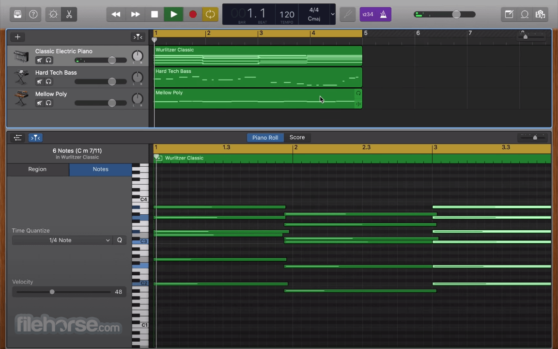GarageBand 10.3.5 Screenshot 3