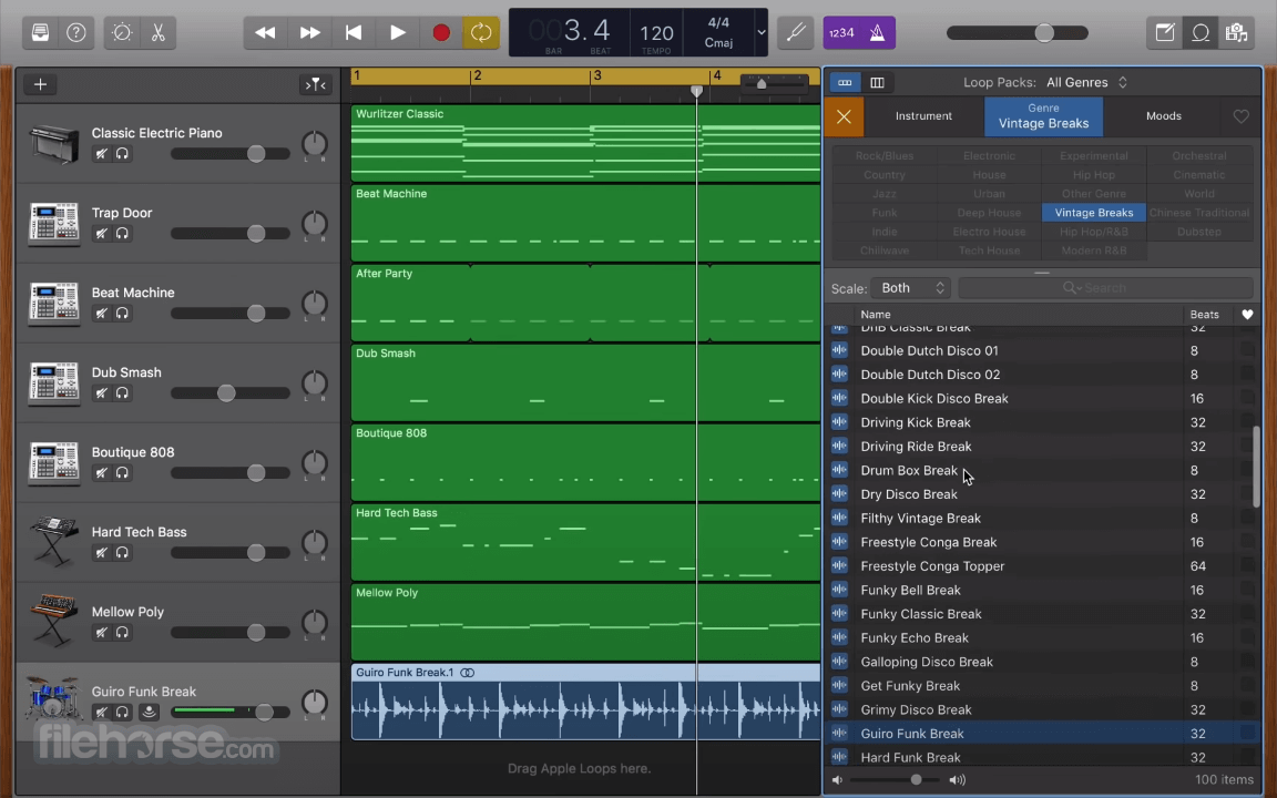 GarageBand 10.3.5 Screenshot 4
