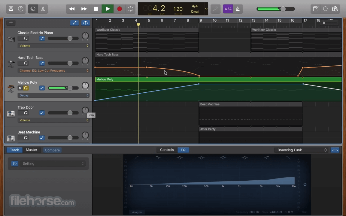 GarageBand 10.3.5 Screenshot 5