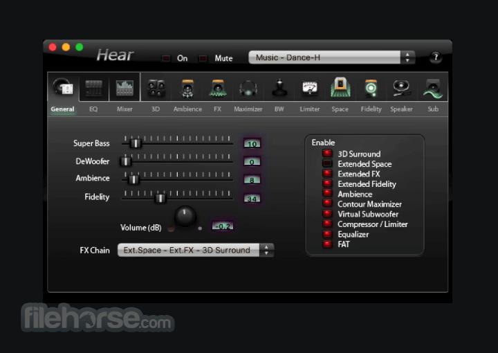 Hear 1.3.1 Build 1161.54.15 Screenshot 1